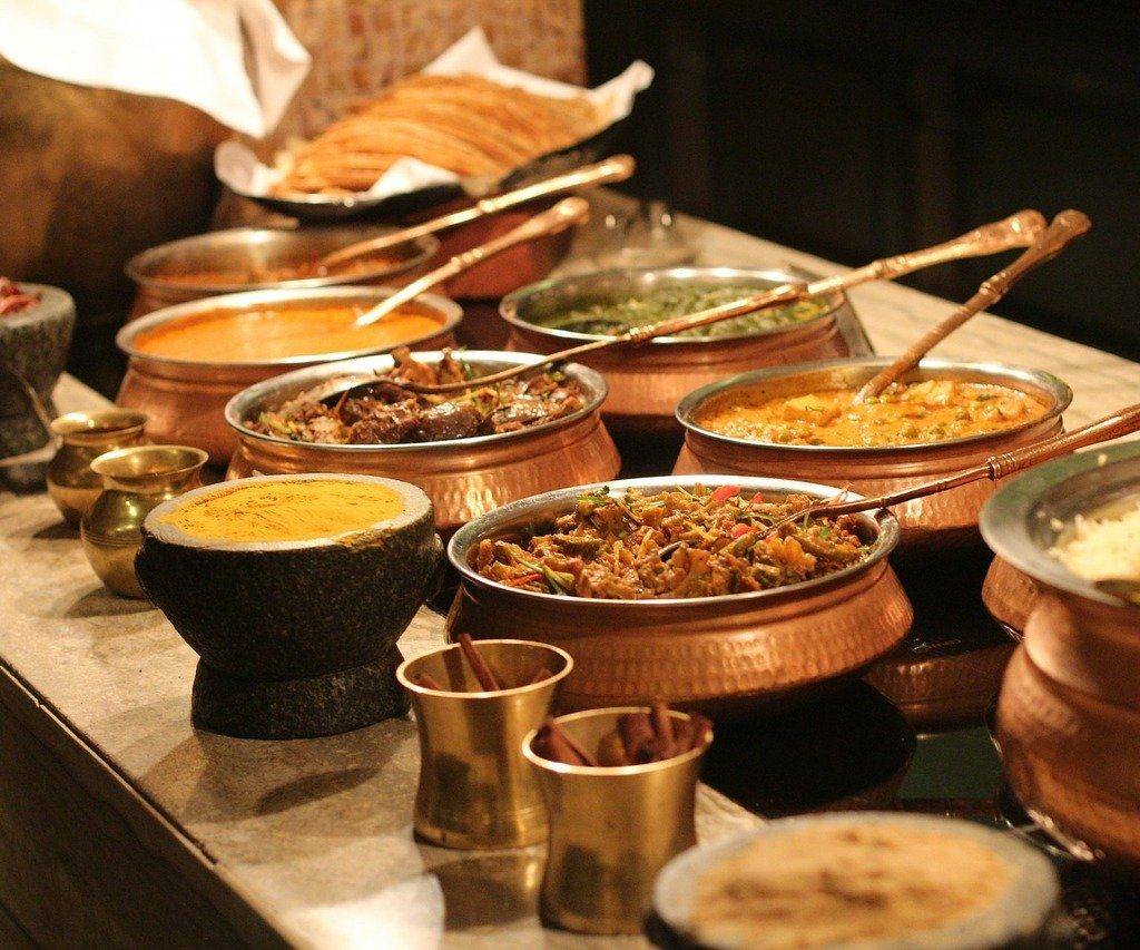 indian spices and food oitems