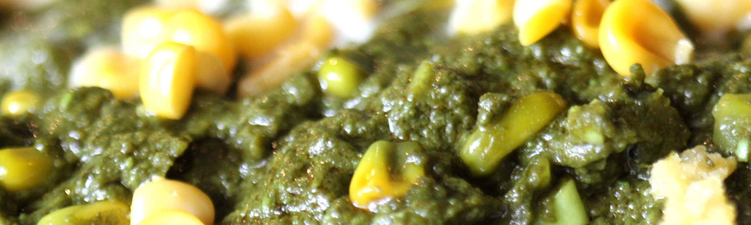 palak paneer is a north indian dish made with paneer and spinach